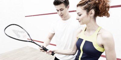 Pierwsze wyzwanie w squasha